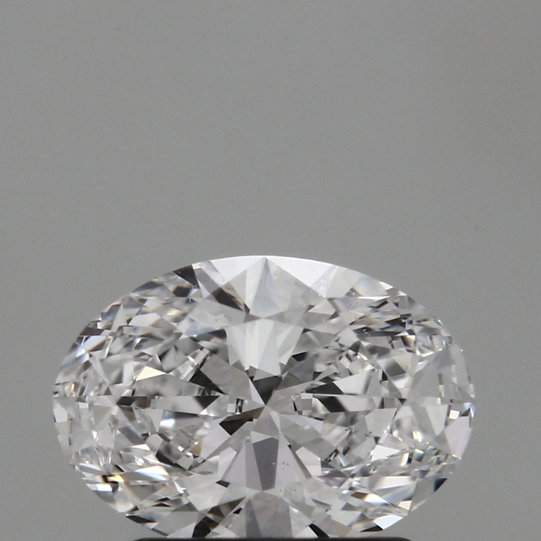 1.07 Carat D-VS2 Excellent Oval Diamond