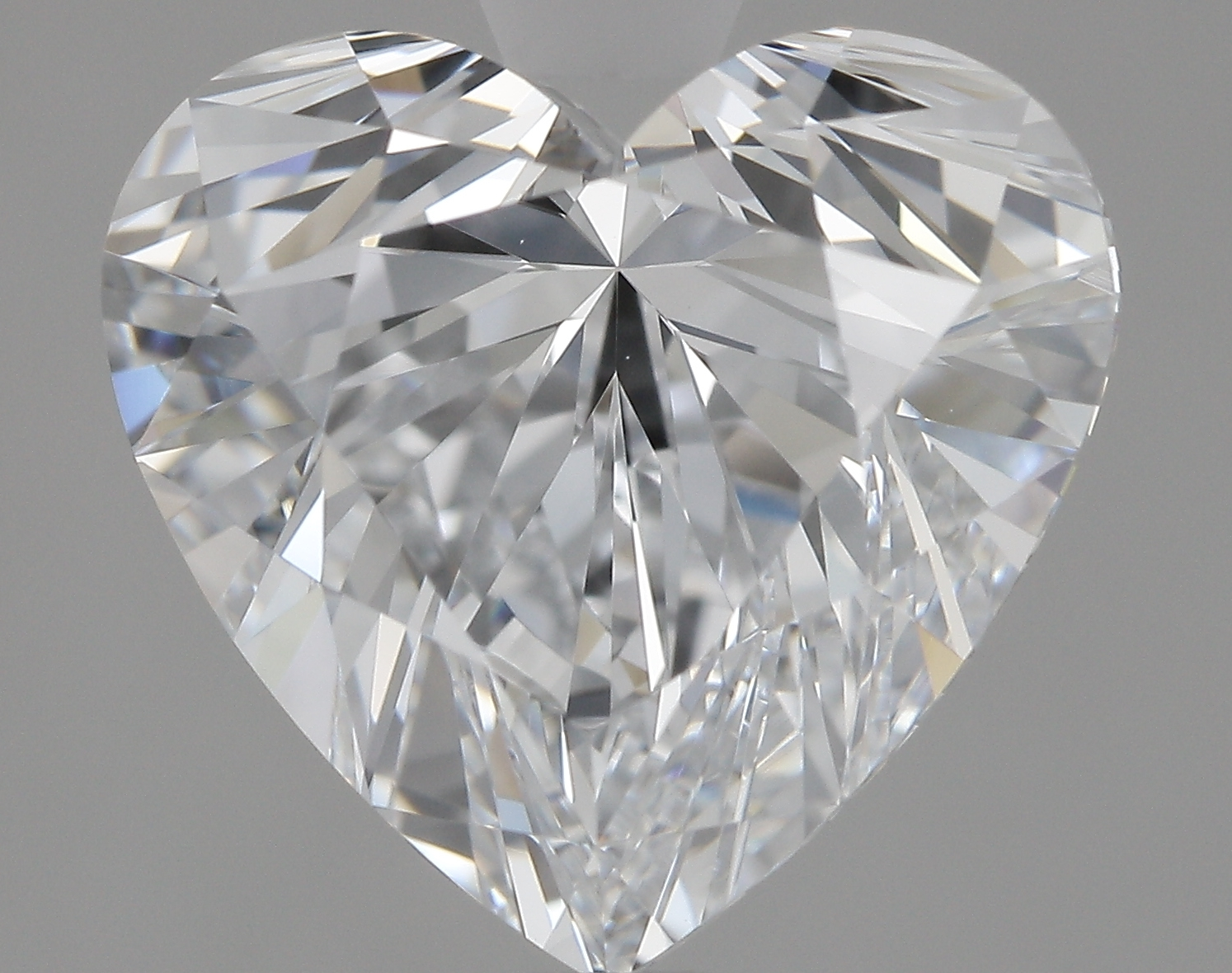 3.06 Carat F-VVS1 Excellent Heart Diamond