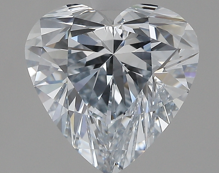 3.02 Carat J-VVS2 Excellent Heart Diamond