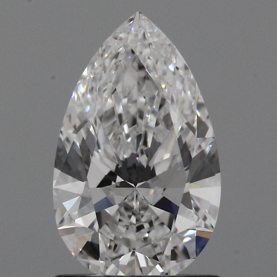 0.93 Carat D-VS1 Excellent Pear Diamond
