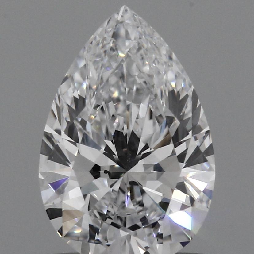 0.90 Carat E-VVS2 Excellent Pear Diamond
