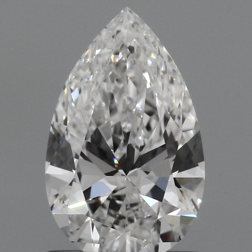 0.93 Carat E-VS1 Excellent Pear Diamond