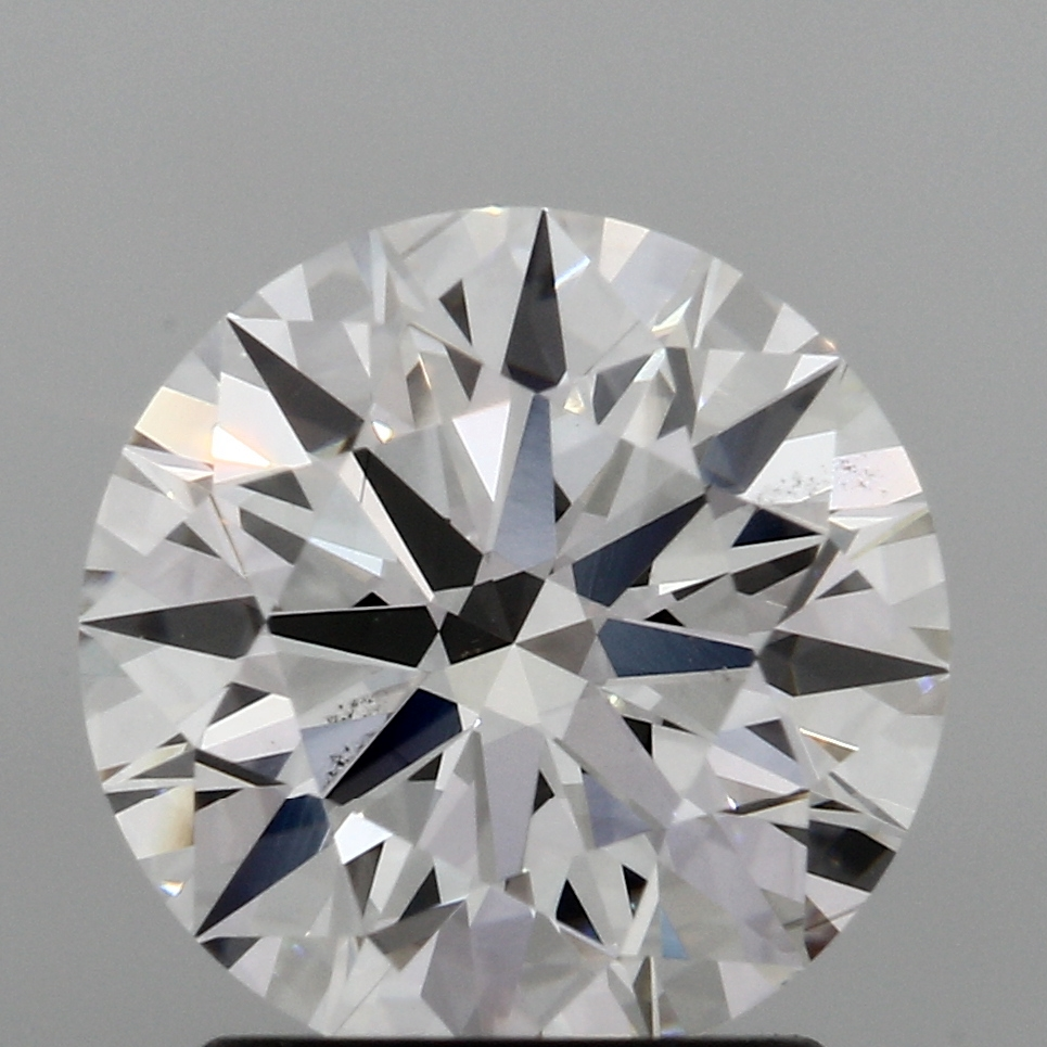 1.72 Carat G-VS2 Ideal Round Diamond